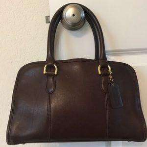 Coach Vintage Brown Leather Satchel